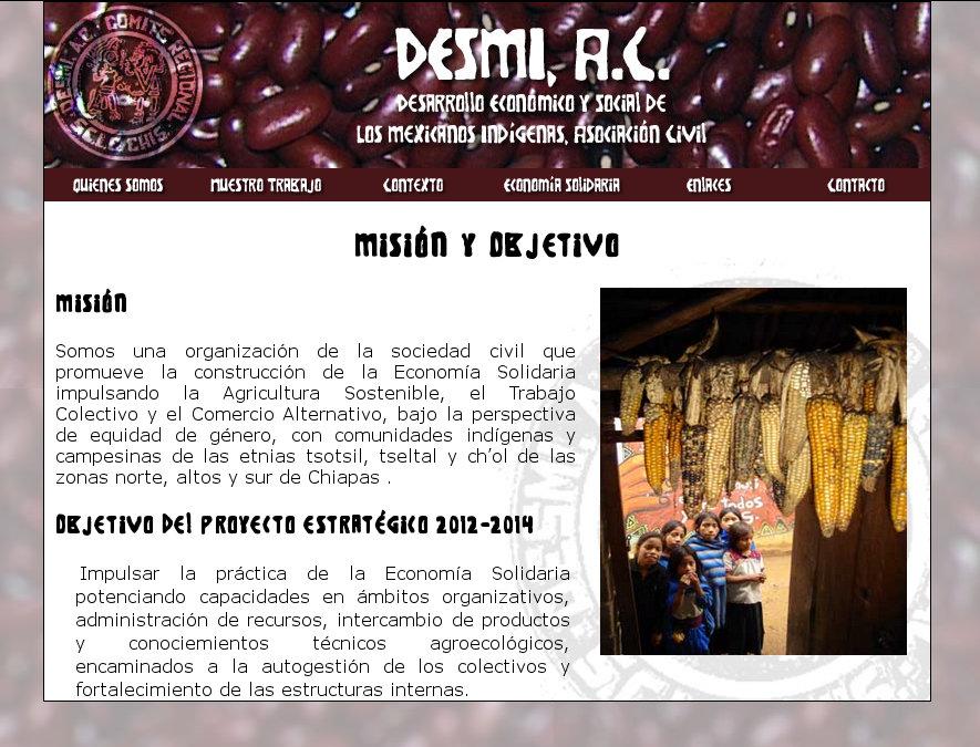 Desarrollo Económico y Social de Los Mexicanos Indígenas, Asociación Civil (DESMI, A.C.)