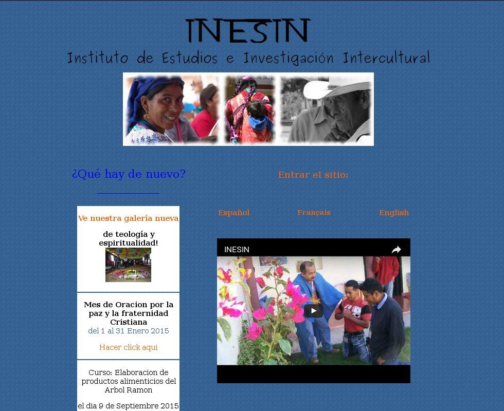 Instituto de Estudios e Investigación Intercultural A, C. (INESIN)